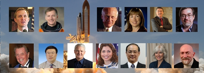 VIPs with Shuttle Launch
